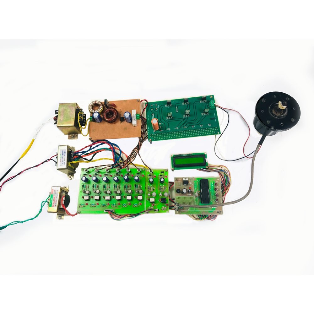 Prototype Model for speed control of BLDC motor by employing ZETA converter